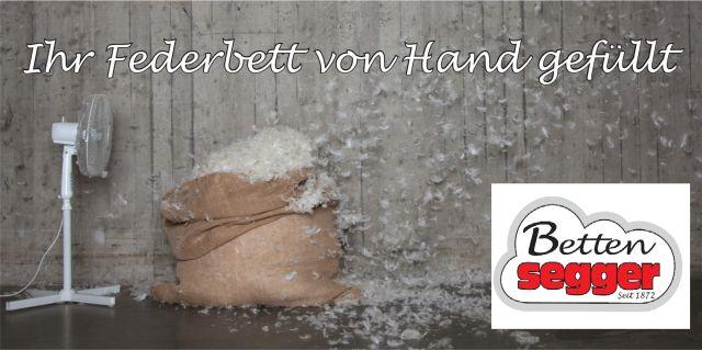 Betten Segger - Daunenbetten Manufaktur Logo